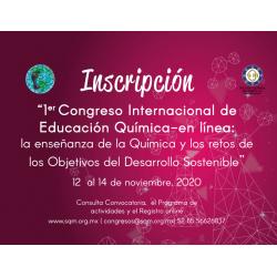 Inscripción Congreso Internacional de Educación Química